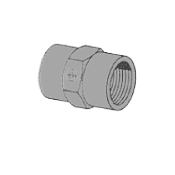 Hex Coupling by Delta Fastener