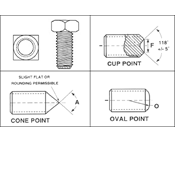 Square Head Machine Screws by Delta Fastener