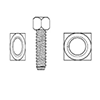 Square Head Set Screw by Delta Fastener