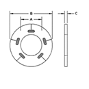 Load Indicating Washers by Delta Fastener
